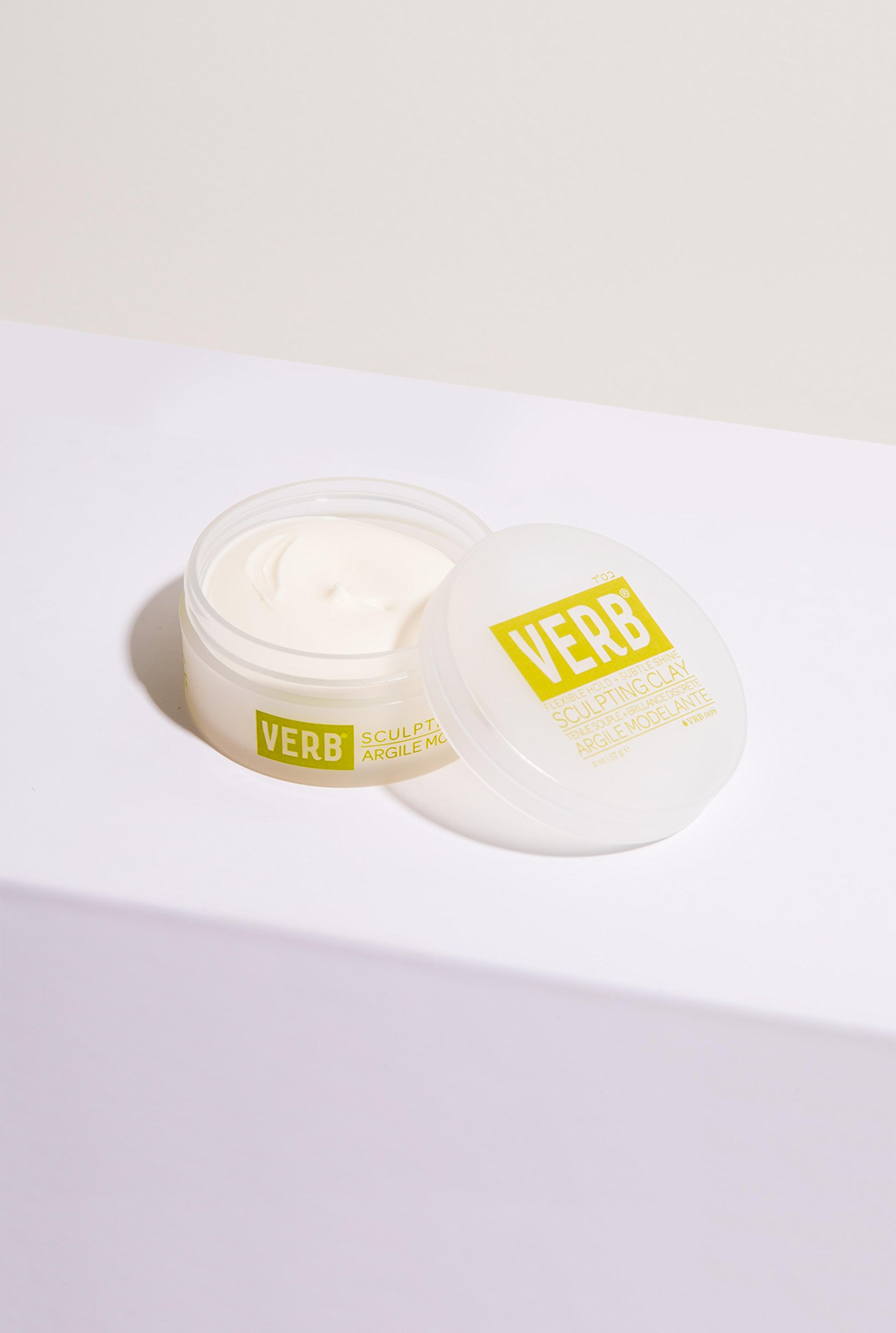 Verb Sculpting Clay - Flexible Hold + Subtle Shine 2oz by verb (Image #2)