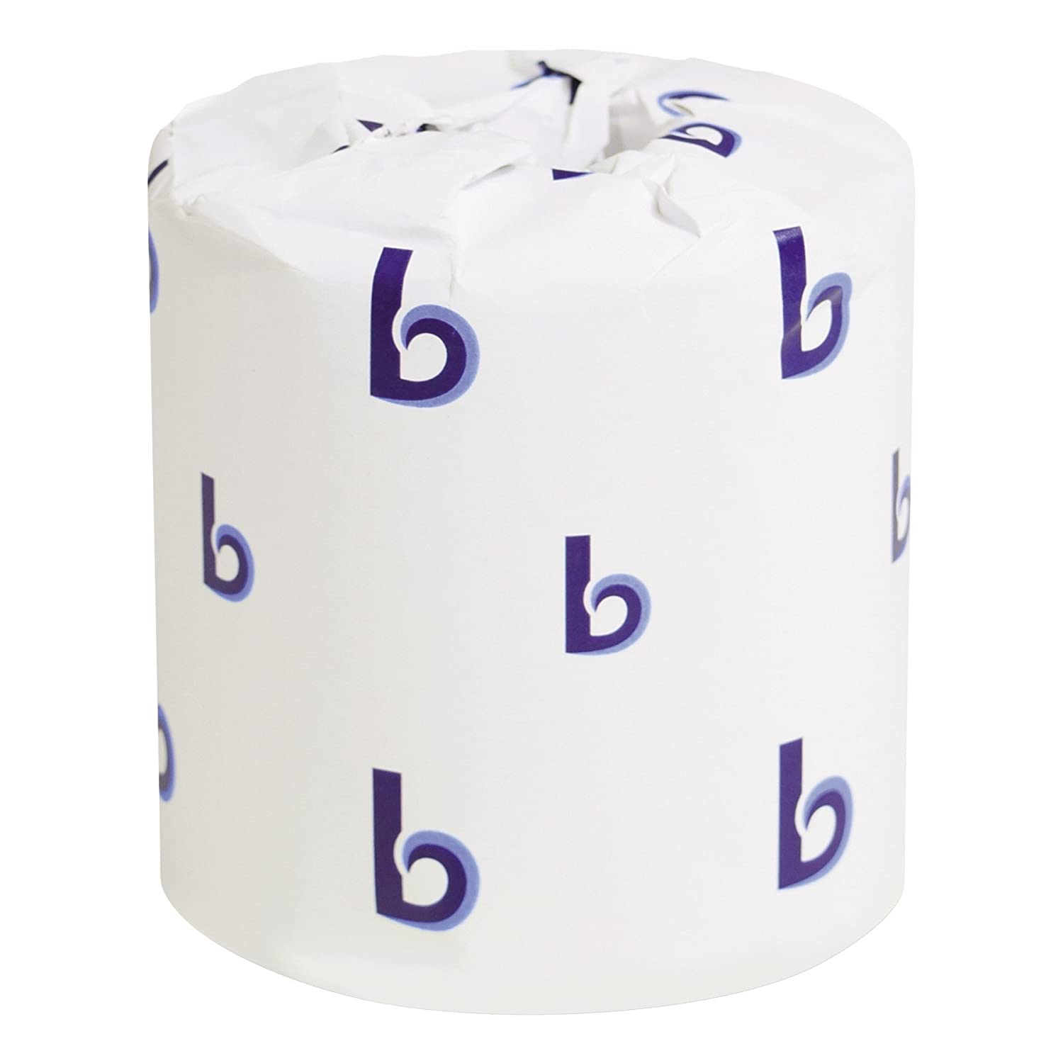 Boardwalk 6170 One-Ply Toilet Tissue Sheets, White, 1000 Sheets per Roll (Case of 96) BWK 6170