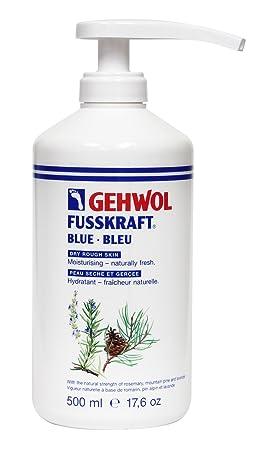 Gehwol Fusskraft Blue Crema para pies 500 ml con dispensador. Hidratante a base de ingredientes naturales: Amazon.es: Salud y cuidado personal