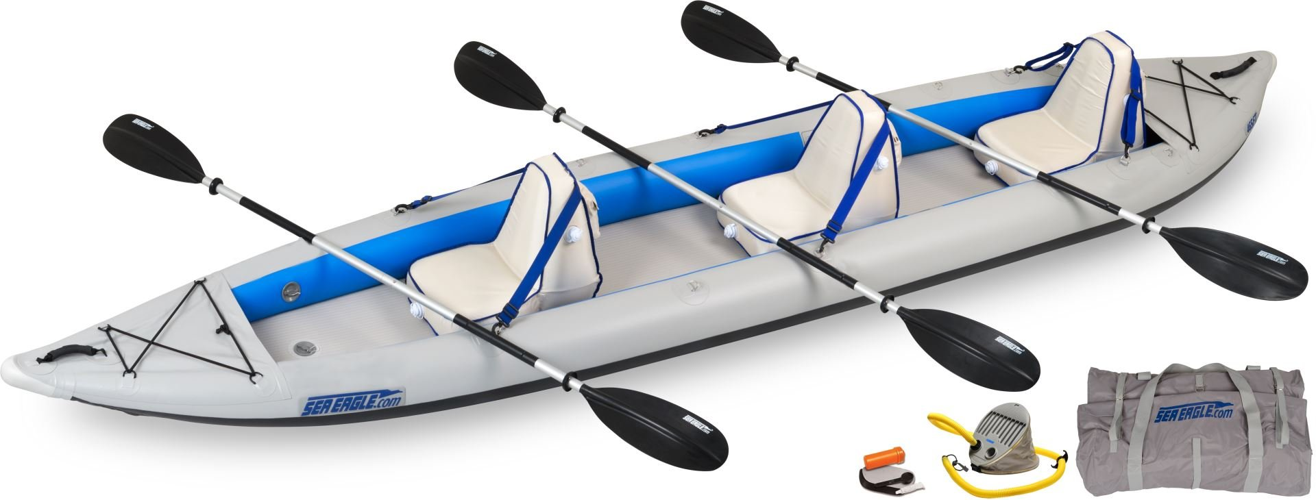 Sea Eagle 465FTKDT FastTrack 465-Feet Inflatable Kayak Deluxe Package
