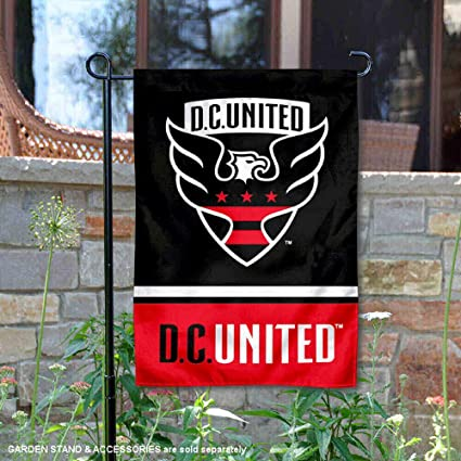 Official Embroidered MLS Soccer DC United Logo Iron or Sew On Patch