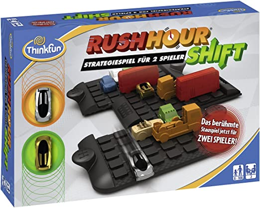 ThinkFun- Nein Rush Hour Shift-Juego de Mesa, Color Teal/Turquoise Green (Ravensburger Spieleverlag 76306): Amazon.es: Juguetes y juegos
