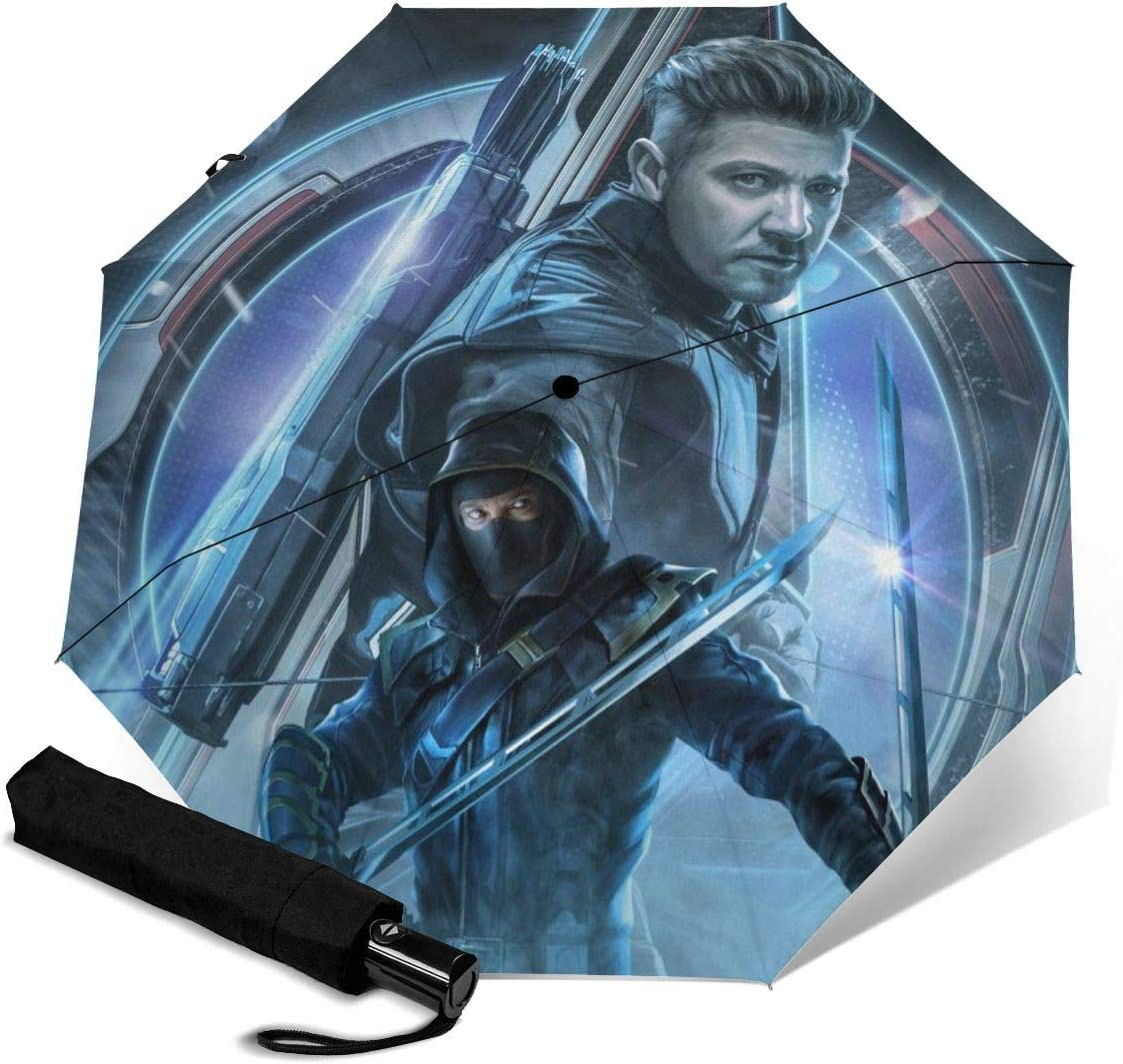 The Avengers Endgame Compact Auto Open Close Folding Business Umbrellas UV Protection Automatic Tri-fold Umbrella for Men and Women Lovesofun Portable Automatic Umbrella