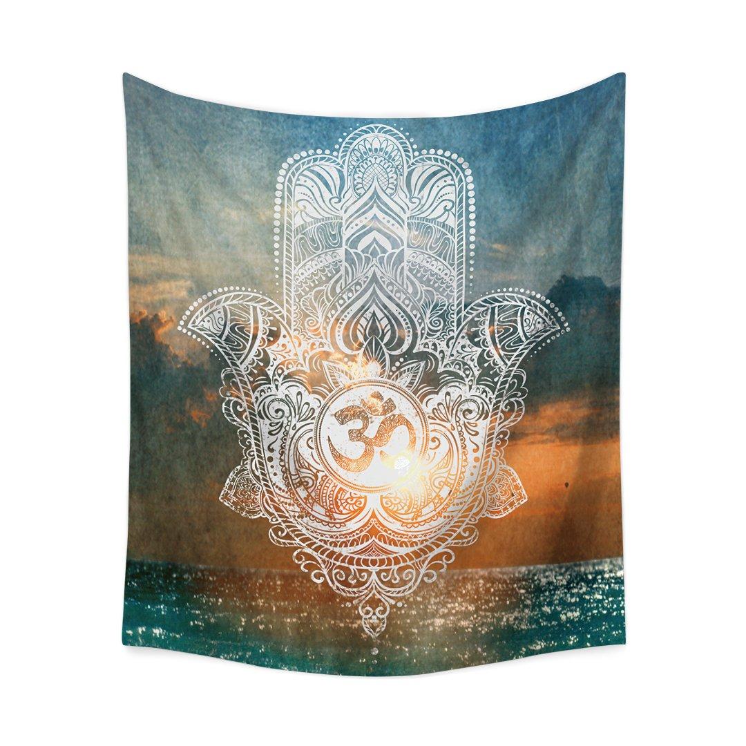 Third Goddess Tapestry Wall Hanging Hamsa Hand Style Design Decorative Tapestry