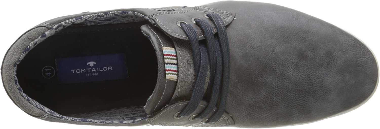 TOM TAILOR Herren Herrenschuhe Derby Grau (Grey) 40 EU