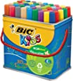 BIC Kids VisaColor Evolutions Pot de 48 Feutres de Coloriage XL
