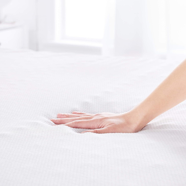 Basics Comfort Memory-Foam-Topper with Straps 4cm 135 x 190 cm