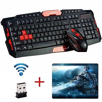 Ergonomische tastatur und maus  UrChoiceLtd® Wireless Tastatur und Maus Sets HK8100: Amazon.de ...
