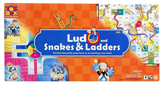 Toysbox Ludo and Snakes and Ladders (Big)