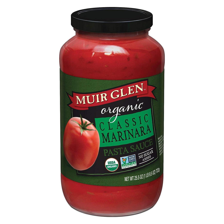 Muir Glen Organic Classic Marinara Pasta Sauce, 25.5 Ounce -- 12 per case.