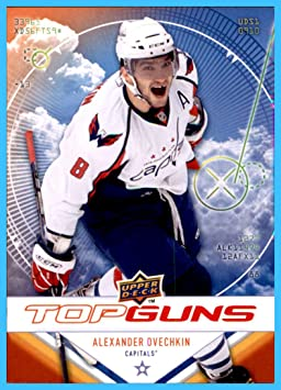 20b2ba2da 2009-10 Upper Deck Top Guns  TG7 Alexander Ovechkin Alex WASHINGTON ...