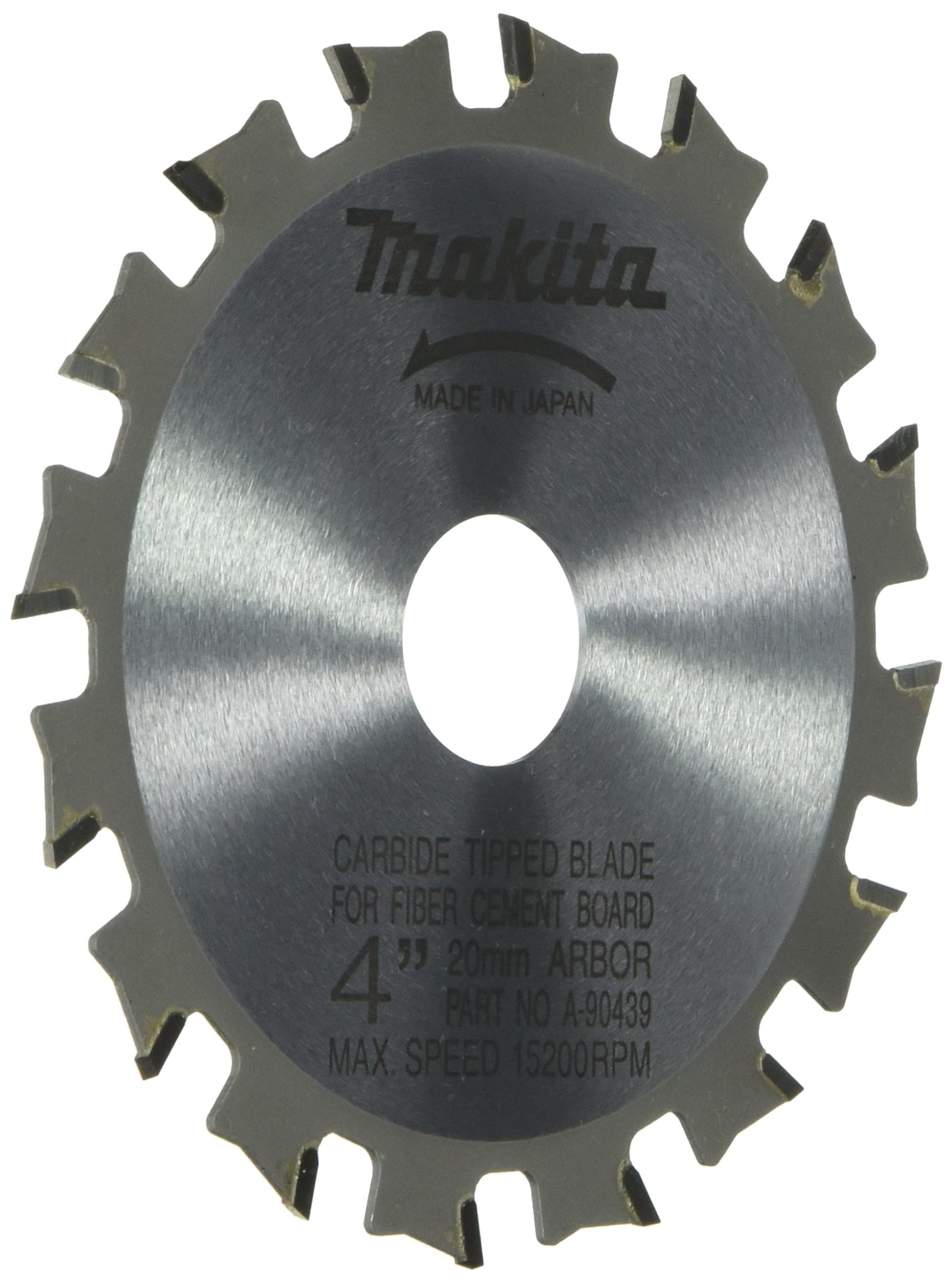 Makita A-90439 4-Inch Carbide Tipped Blade, 16-Teeth