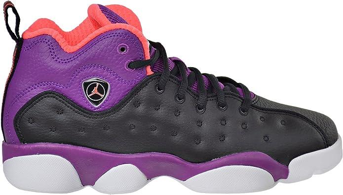 Jordan Jumpman Team II GG Big Kid/'s Shoes Black//Orange//Purple//White 820276-008