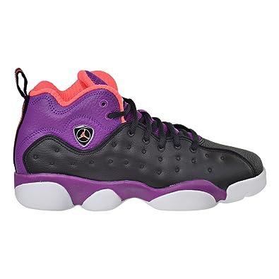 080ec814 Jordan Jumpman Team II GG Big Kid's Shoes Black/Orange/Purple/White 820276