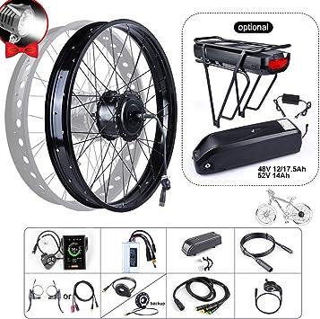 BAFAGN 48 V 750 W Ebike Kit de conversión para Todos los Tipos de Bicicletas 20
