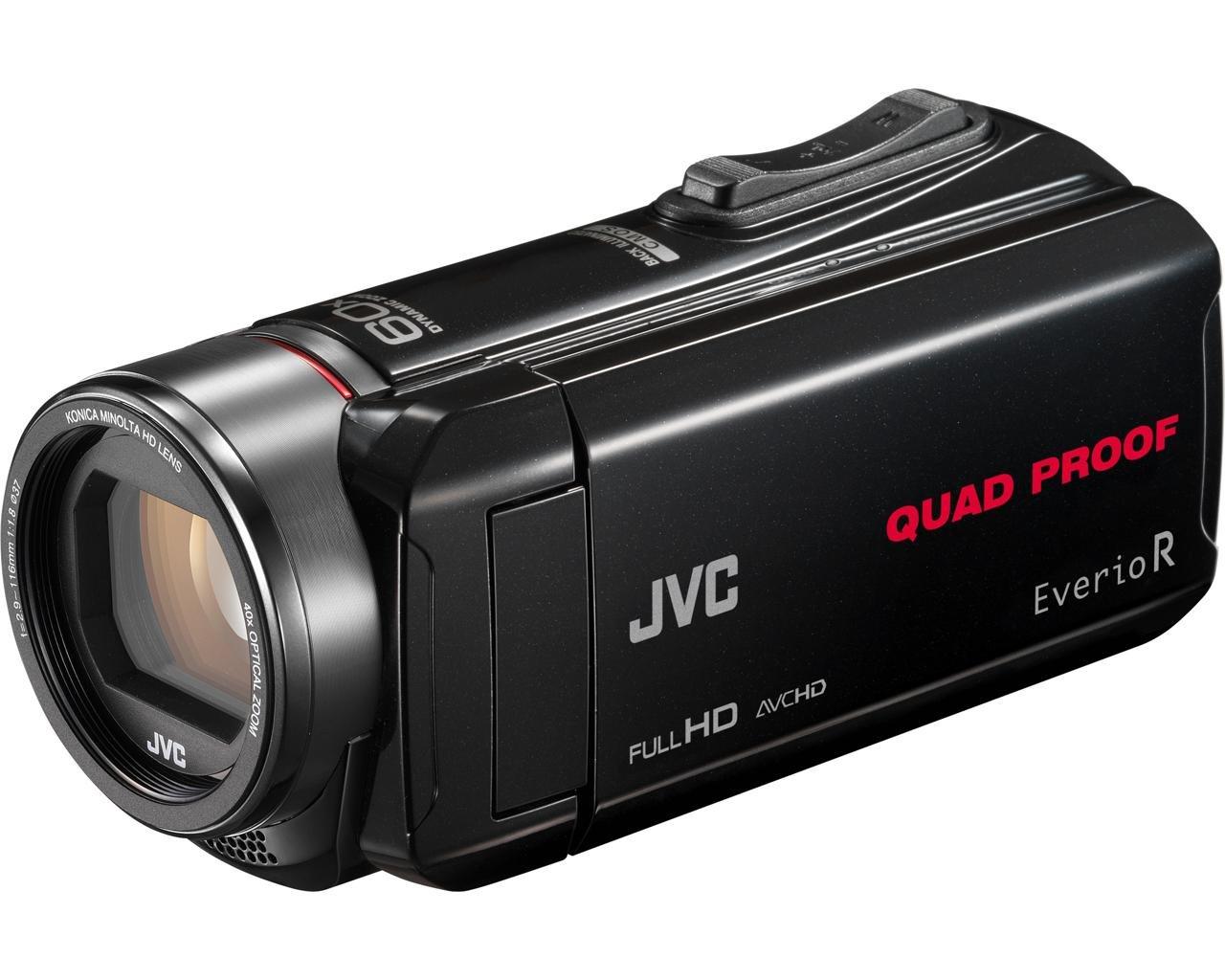 JVC GZ-R435 - Videocámara de memoria (pantalla articulada 3