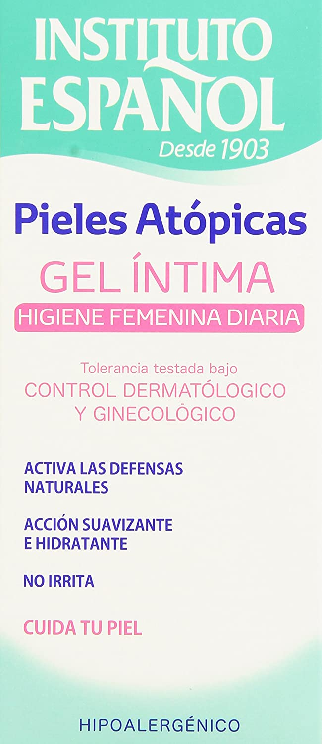 Amazon.com : INST.ESPAÑOL GEL HIGIENE INTIMA PIELES ATOPICAS 300 ML ...