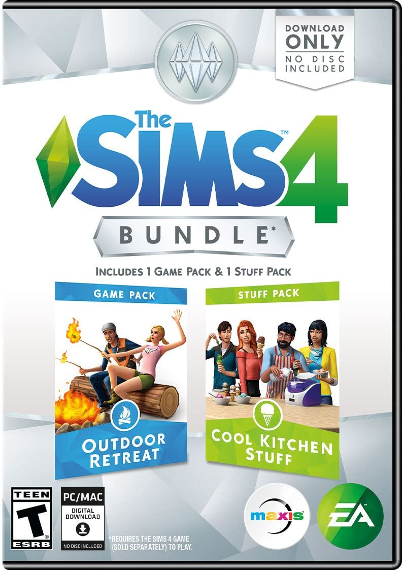 amazon com the sims 4 bundle pack outdoor retreat and cool
