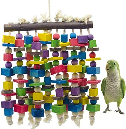 Muscle Challenge Pet Bird Parrot Toy Cage Toys Macaw Amazon Cockatoos