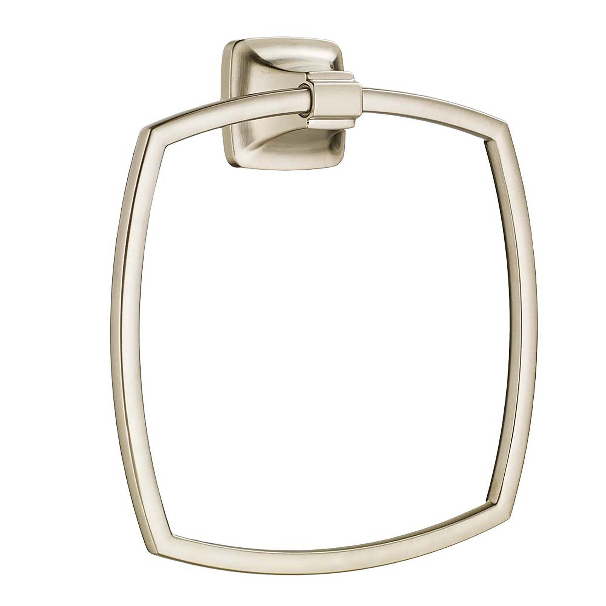 American Standard 7353190.295 Townsend Towel Ring,,, Satin Nickel