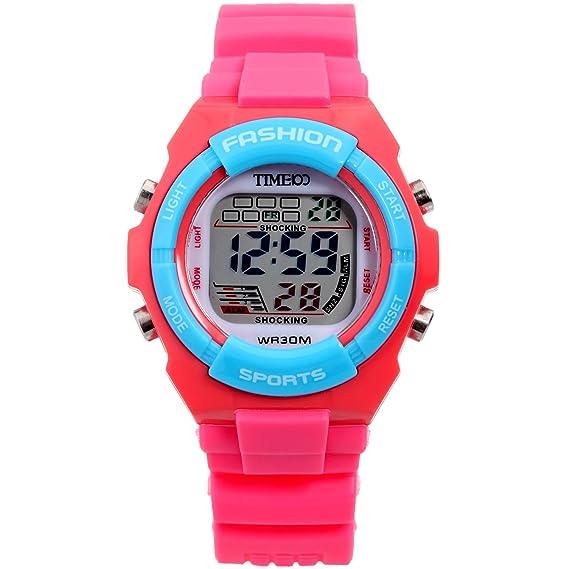 Time100 W40011L.02A característica multifuncional-SPORT - digital-reloj: Time100 Watch: Amazon.es: Relojes