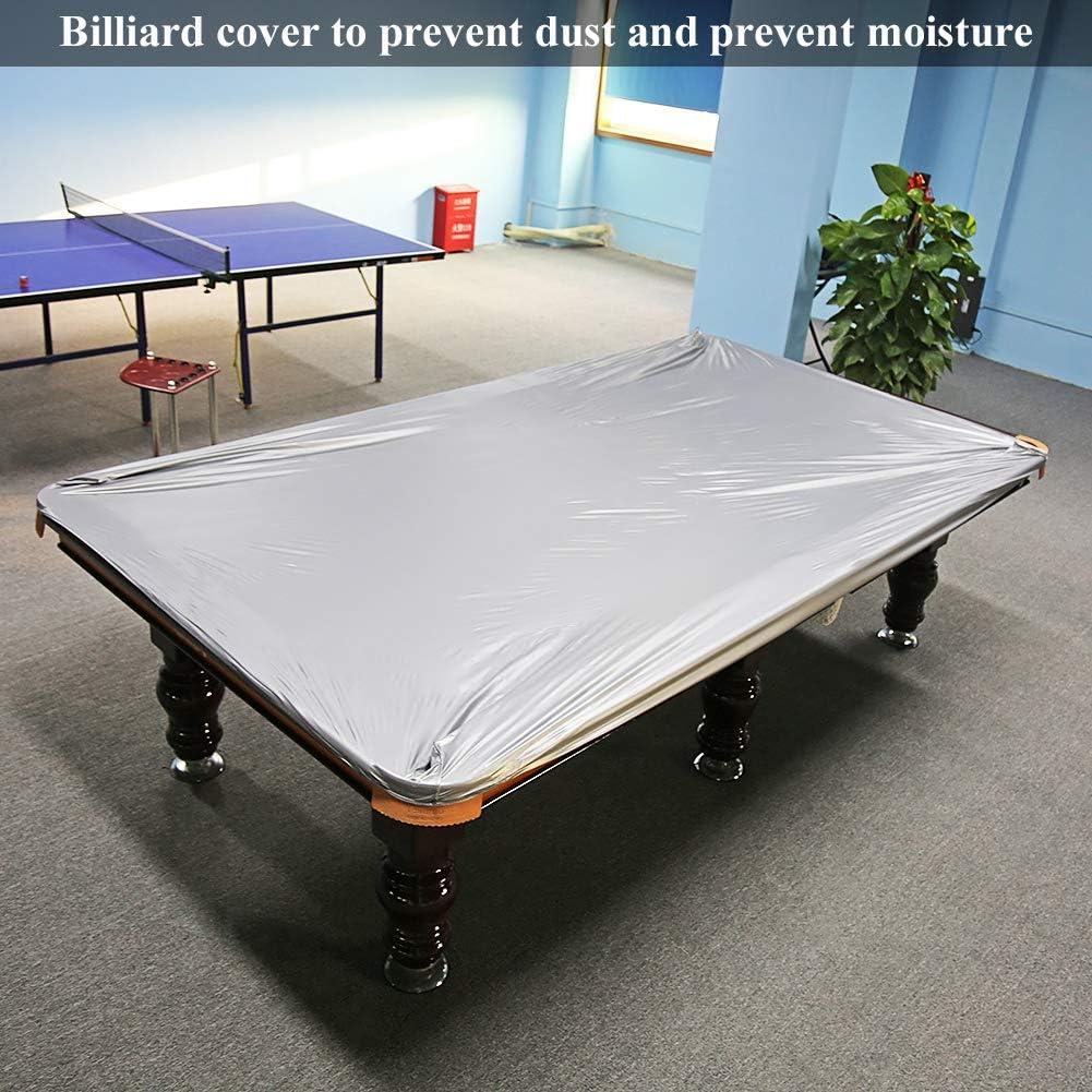 Couverture Tables Billard Couverture imperm/éable GOTOTOP B/âche de Protection pour Tables pour Tables de Billard 8/ft Standard 260/x 170/cm