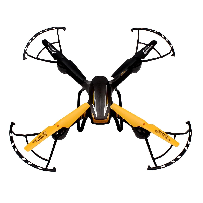 Skytech TK107W - Quadrocopter mit WiFi Kamera und Höhen Barometer, schwarz