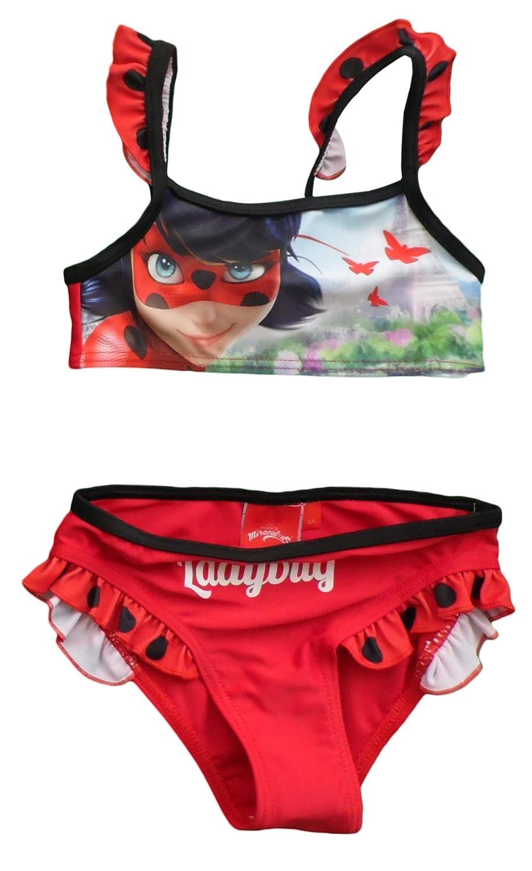Miraculous Ladybug Girls Swimmming Costume