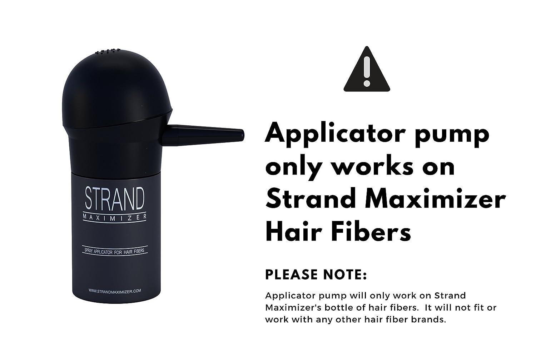 Amazon.com: Bomba aplicadora para fibra de cabello, spray ...