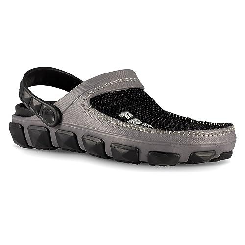 3f9932f1b75 Fresko Shoes Men's Foam Clog Sandals - Water Shoe for Beach, Pool Black