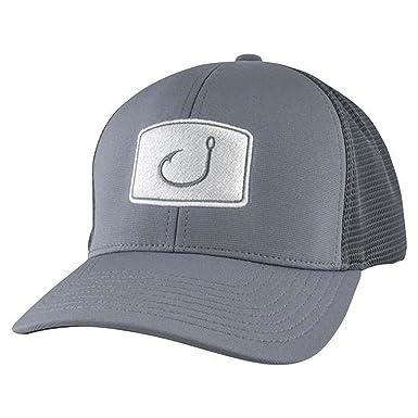 b80932d7f552c7 Avid Men's Flexfit Fitted Mesh Hat, Charcoal, S-M at Amazon Men's Clothing  store:
