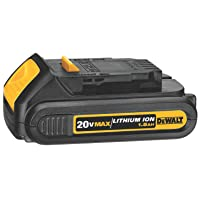 Deals on DEWALT 20V MAX Battery, Compact 1.5Ah DCB201