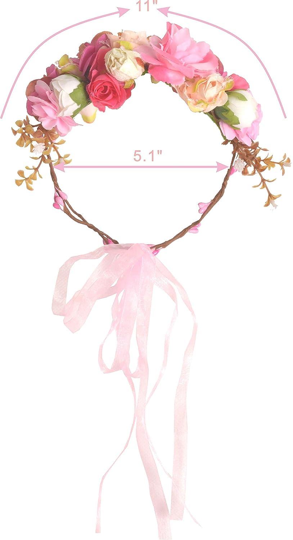 Amazon.com: Juego de flores de la madre a ser de color rosa ...