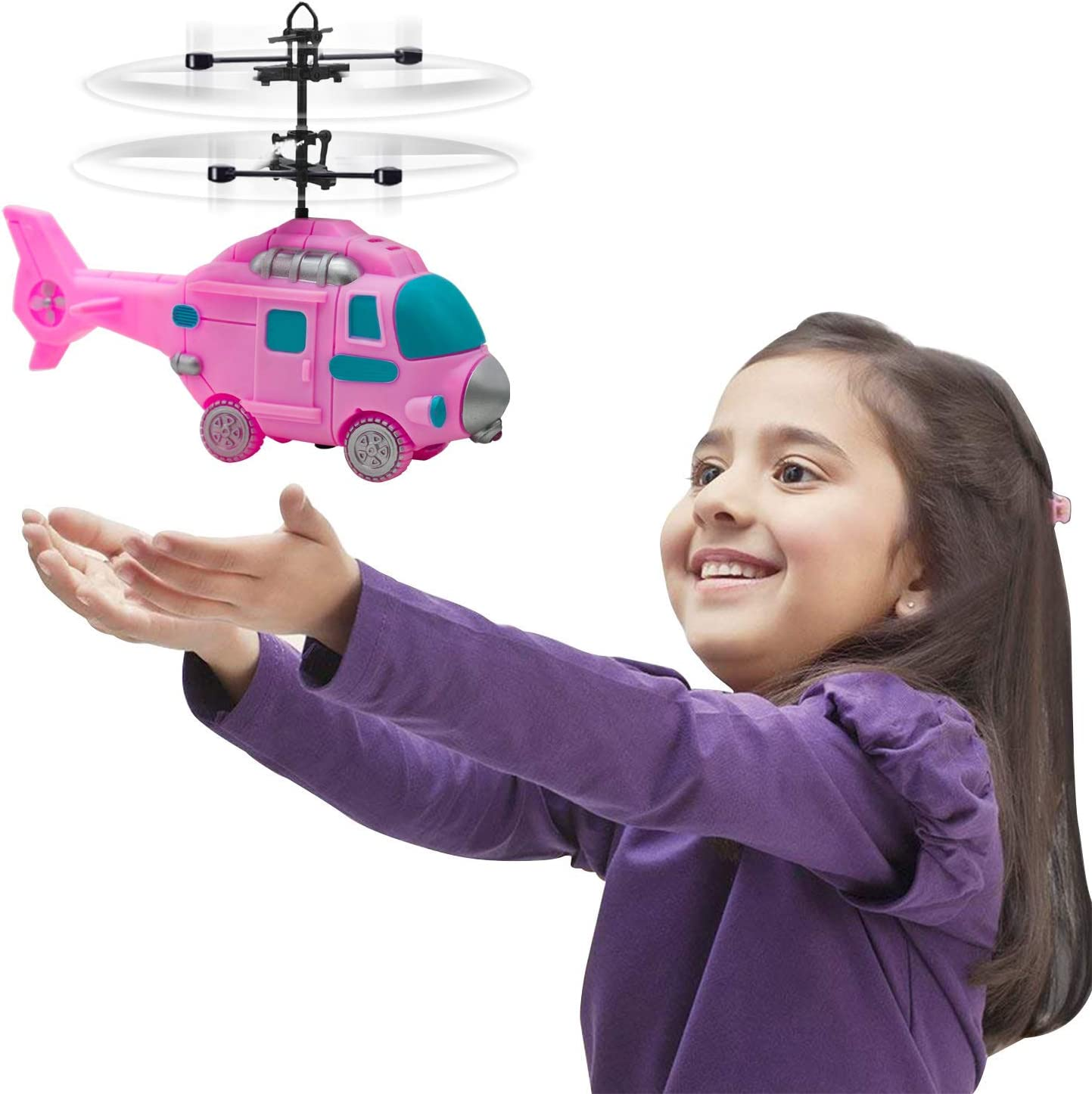 Years Old toys 2019 Helicopter Funny Kids Outdoor Toy Drone Childrens Day Gift Education Toy for Boys Girls Fun Toy for 5 6 7 Festiday 1PC Helicopter Toy Sale Kids Toy