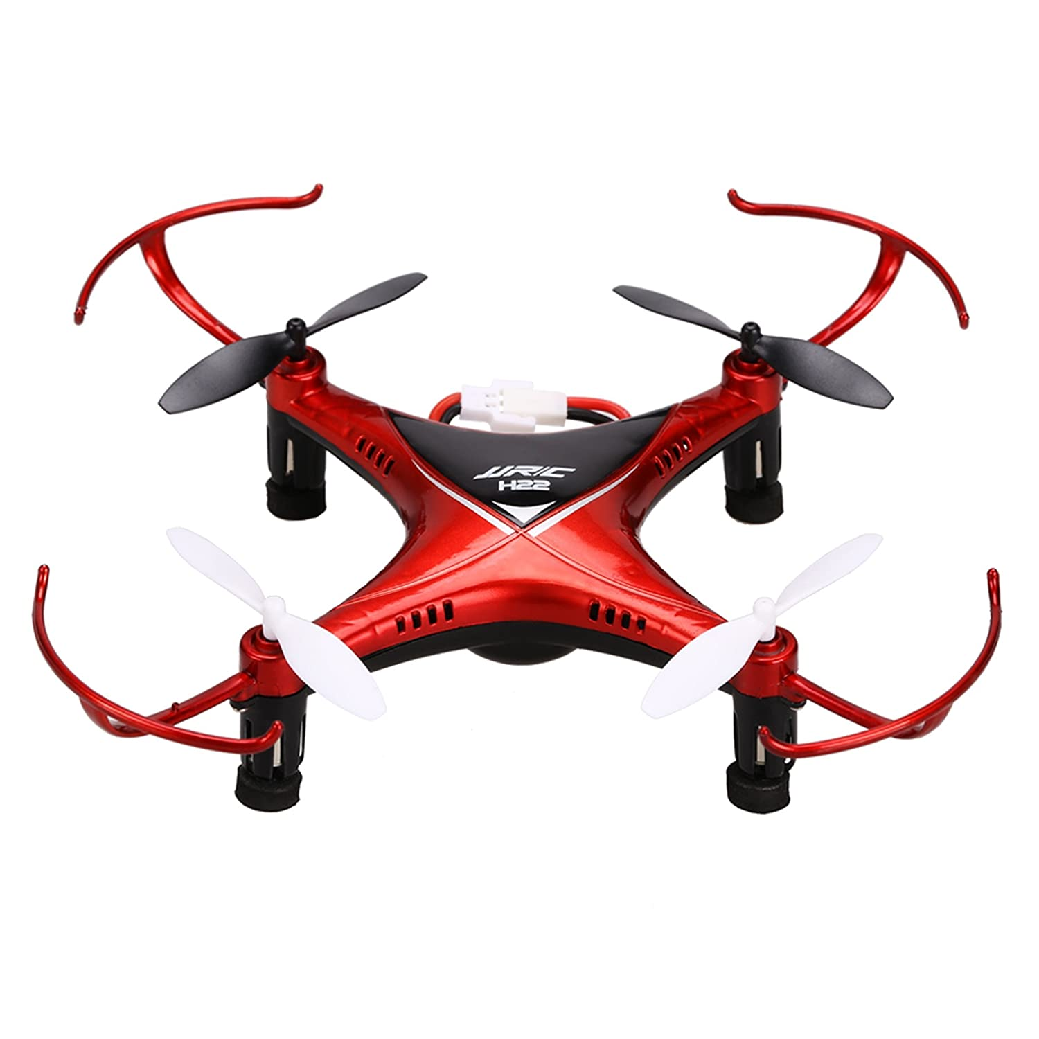 Voomall JJRC H22 2.4G 4CH 6-Axis Gyro Mini Drone Double-sided 3D Inverted Flight Mini RC Quadcopter for Kids