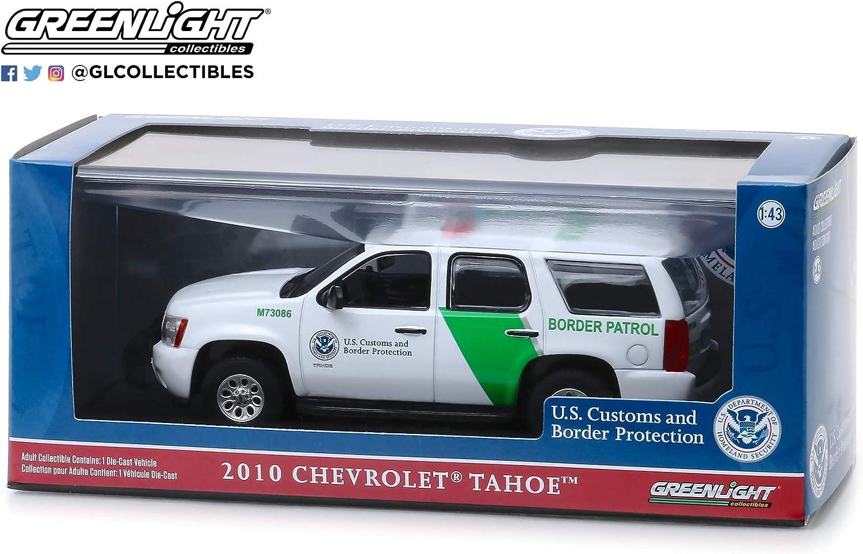 GreenLight 86163 1 43 2010 Chevrolet Tahoe Customs /& Border Protection Border Patrol U.S