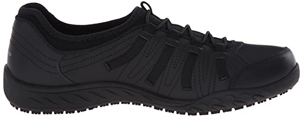 997cda1b02e4d Amazon.com | Skechers for Work Women's Bungee Slip Resistant Lace-Up  Sneaker | Fashion Sneakers
