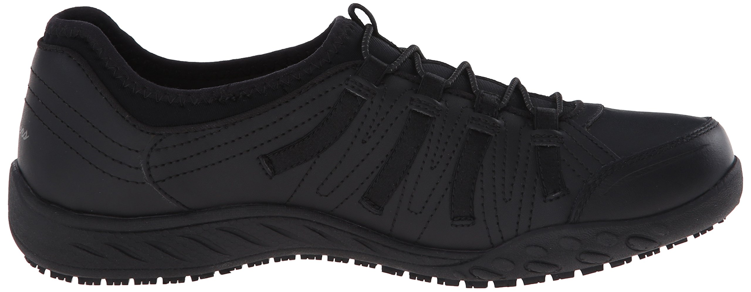 6be18d844282 Skechers for Work Women s Bungee Slip Resistant Lace-Up Sneaker ...