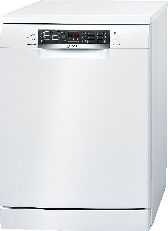 Lavavajillas - Bosch SMS46CW01E, 13 servicios, Libre instalación, Extra Secado, Programable, Clase