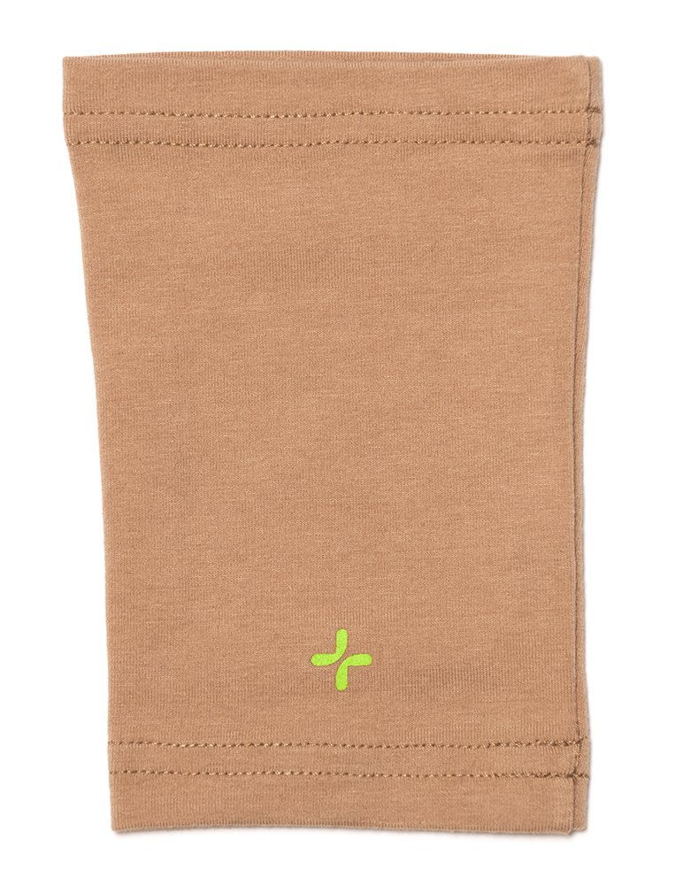 Care+Wear Unisex Ultra-Soft Antimicrobial PICC Line Cover Camel 13''-15'' Bicep