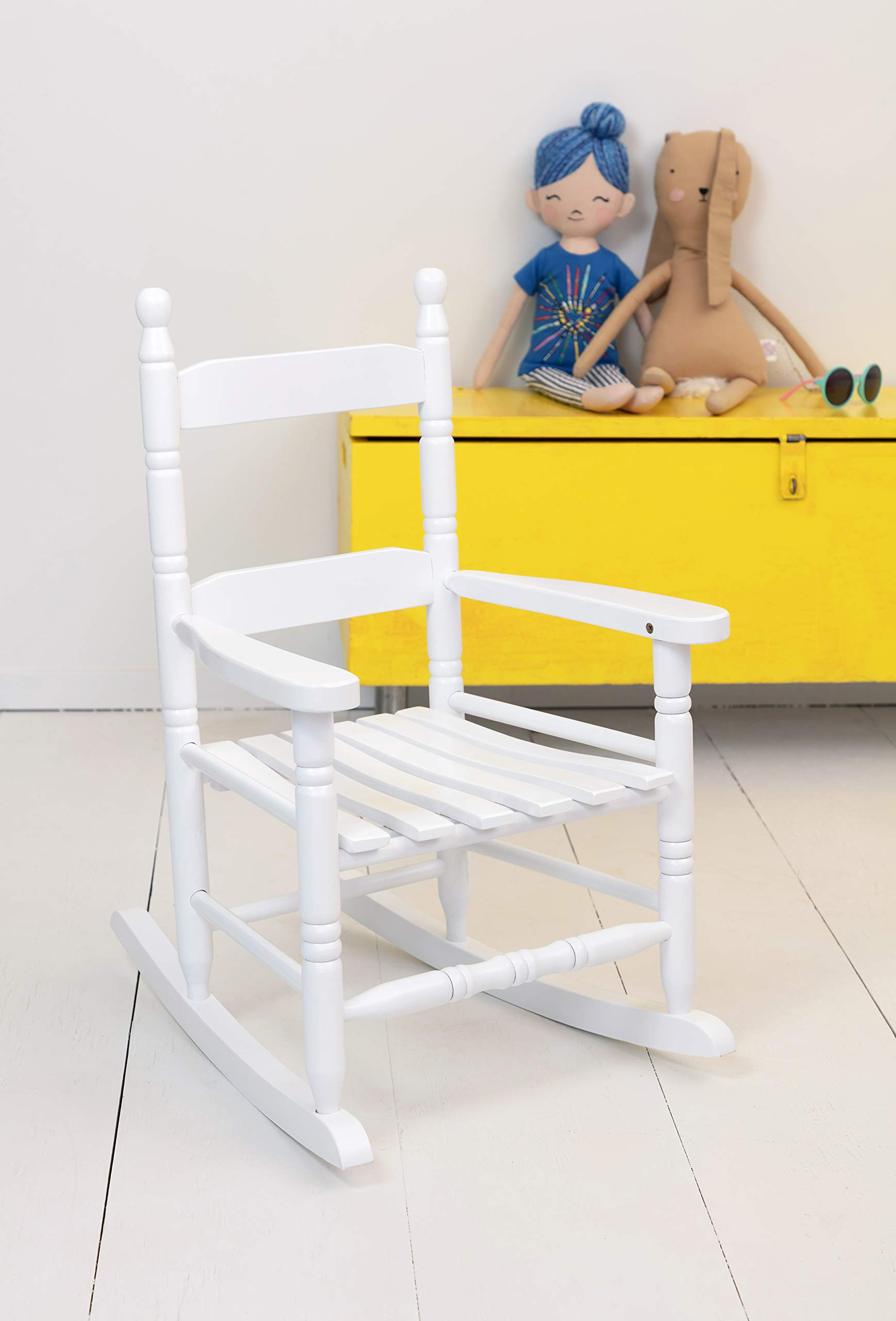 Jack-Post KN-10W Classic Child's Porch Rocker White by JACK-POST