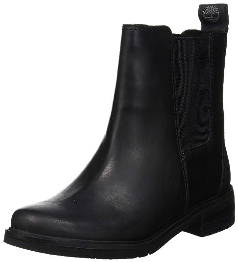 bieten Rabatte jetzt kaufen neue niedrigere Preise Timberland Damen Mont Chevalier Chukka Boots, Schwarz