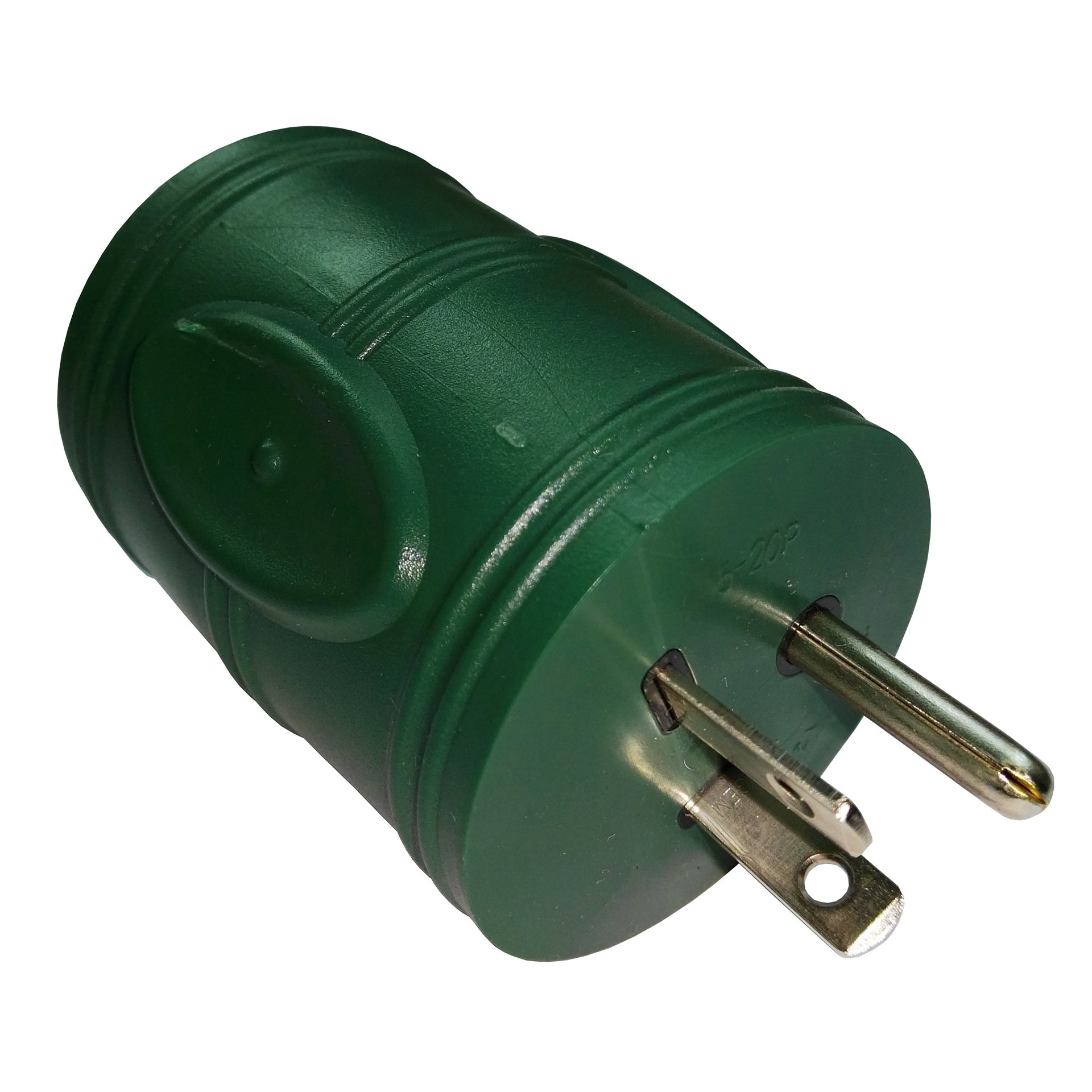 Parkworld 692347 Generator 20 AMP to RV 30A Power Adapter 3-Prong Generator 5-20P Male Plug to RV TT-30R Female Receptacle