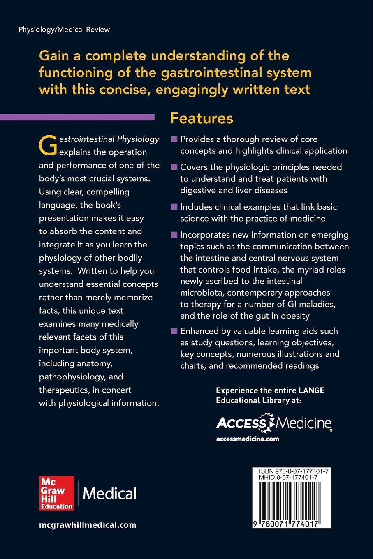 Gastrointestinal Physiology 2/E (Lange Medical Books)