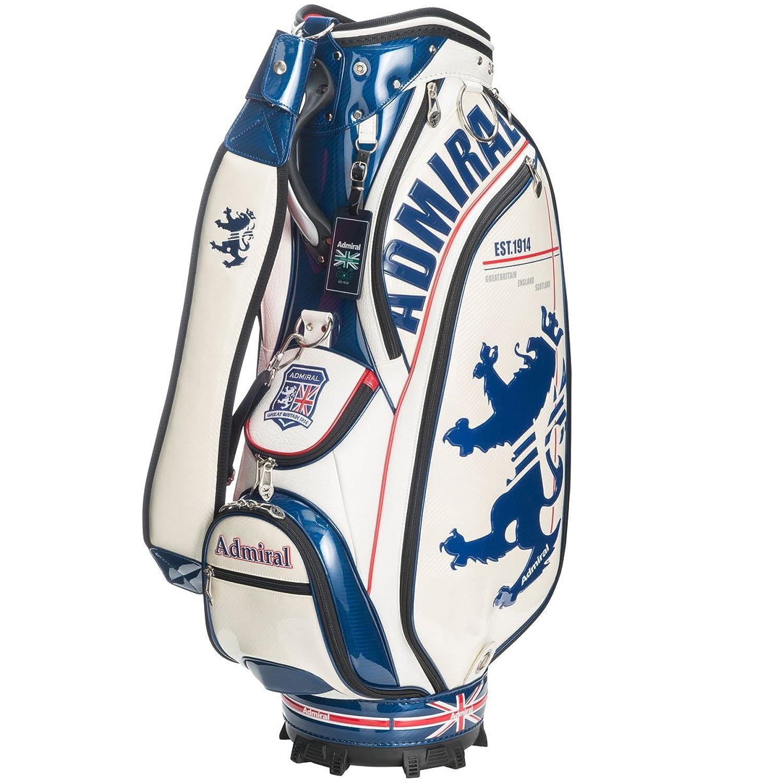 【ADMIRAL】アドミラルゴルフ GRAPHIC SPORTS MODEL グラフィックスポーツモデルキャディバッグ ADMG7SC2 ホワイト(00) B06WRVHVW5
