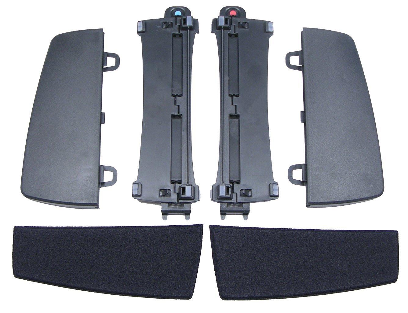Kinesis Freestyle 2 Ergonomic - Soporte para teclado ergonómico (Ajuste de inclinación), negro KIN-FS-VIP3