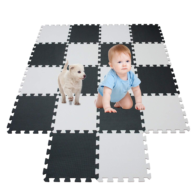 meiqicool -Tappetino puzzle per bambini in gommapiuma EVA, tappetino da gioco, puzzle tappeto, puzzle per bambini in gommapiuma,dimensioni 142 x114 x 1cm Fujian Jiasheng Sports Co. LTD
