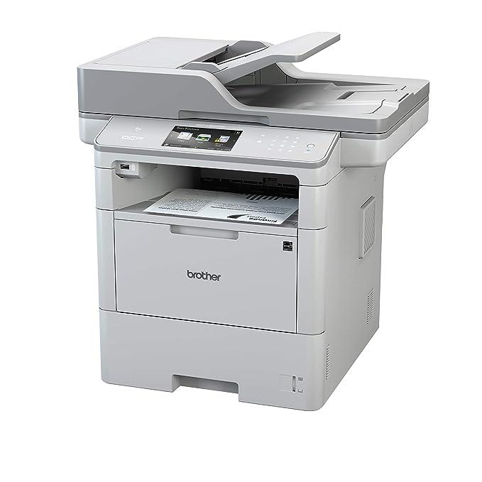 Brother DCP-L6600DW - Impresora multifunción láser monocromo (520 hojas, 40 ppm, USB 2.0, Wifi) + Brother TN3430 - Tóner negro (3.000 páginas según ...