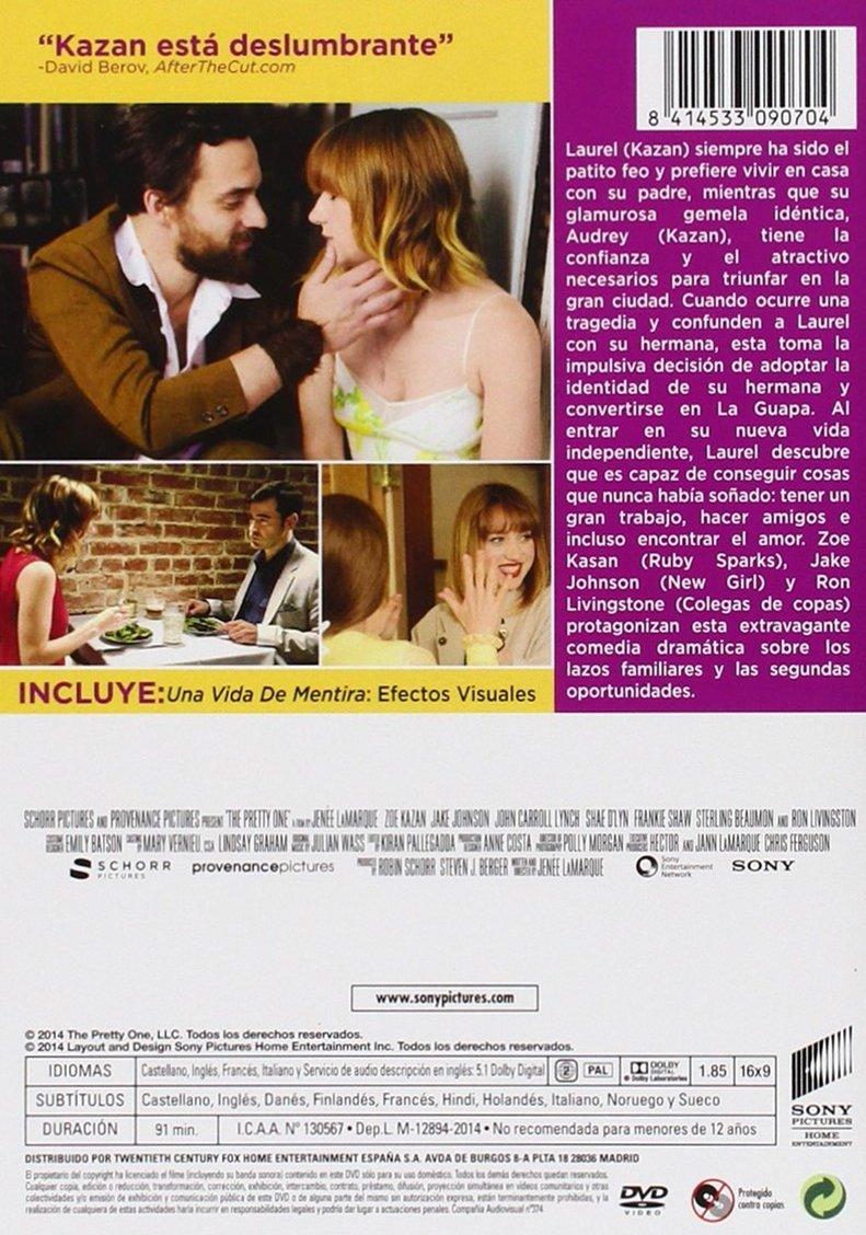 Una Vida De Mentira [DVD]: Amazon.es: Zoe Kazan, Jake Johnson ...