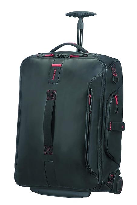 946db76050ed38 Samsonite Paradiver Light Duffle on Wheels 55cm Backpack Black ...